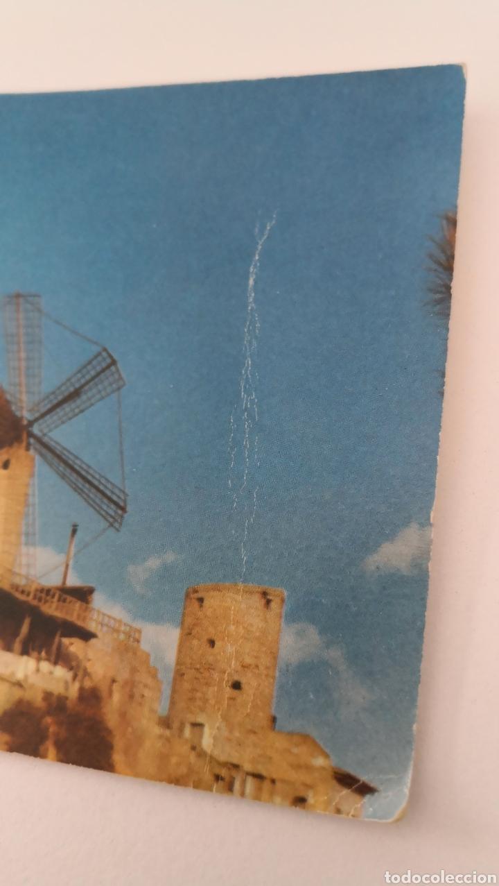 Postales: Postal Colección Vistas panorámicas 5001 Palma de Mallorca Molinos Jack el negro - 1958 - C. Rivas - Foto 2 - 253428795