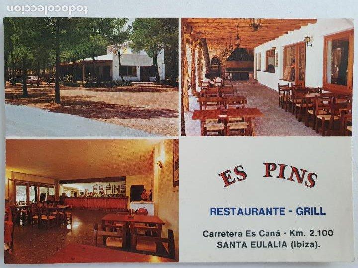 EIVISSA / IBIZA SANTA EULÀRIA DES RIU - RESTAURANTE ES PINS - P49481 (Postales - España - Baleares Moderna (desde 1.940))