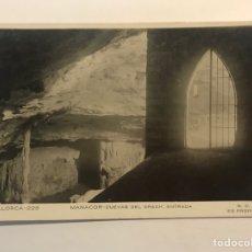 Postales: MALLORCA, POSTAL NO.226, MANACOR - CUEVAS DEL DRACH, ENTRADA. N.C.P. (H.1940?) S/C. Lote 254363025