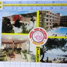 Postales: POSTAL DE MALLORCA. AÑO 1981. PAGUERA HOTEL SAN VALENTIN 2175 FOTOPERATOR. 766. Lote 254643705