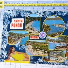 Postales: POSTAL DE MALLORCA. AÑO 1970. SANTA PONSA. 3103 PLANAS. 776. Lote 254644100