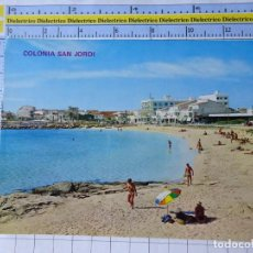 Postales: POSTAL DE MALLORCA. AÑO 1970. COLONIA DE SAN JORDI. 1304 BOHIGAS. 785. Lote 254644430