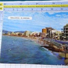 Postales: POSTAL DE MALLORCA. AÑO 1970. EL ARENAL. 1008 . 789. Lote 254644555