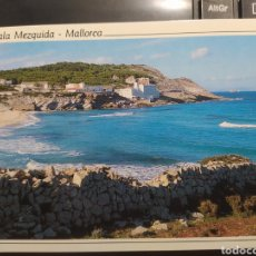Postales: CALA MEZQUIDA. MALLORCA. SERIE ORO. FISA ESCUDO DE ORO S.A.. Lote 254963510