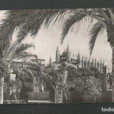 Postales: POSTAL CIRCULADA PALMA DE MALLORCA 2073 CATEDRAL DESDE EL PASEO SAGREDA EDITA CASA PLANAS. Lote 254977455