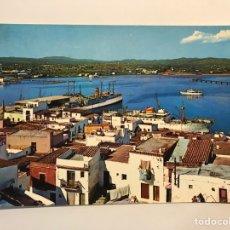 Postales: IBIZA, POSTAL NO.1400, DETALLE DEL PUERTO. EDIC., FIGUERETAS (A.1970) CÍRCULADA.... Lote 256096260
