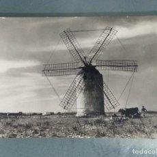 Cartoline: POSTAL FORMENTERA (BALEARES). LA MOLA. MOLINERO ARANDO.. Lote 257336395