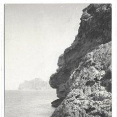 Postales: POSTAL MALLORCA COSTA NORTE POLLENSA BARQUITA SOBRE MAR MEDITERRANEO ISLAS BALEARES. Lote 259874445