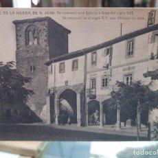 Postales: ANTIGUA POSTAL TORRE IGLESIA DE SAN JUAN OÑA BURGOS. Lote 259877670