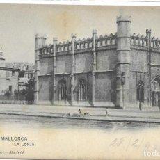Postales: POSTAL PALMA DE MALLORCA LA LONJA ISLAS BALEARES. Lote 259879980