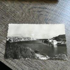 Postales: POSTAL ANTIGUA VILLA CARLOS MENORCA CALA DE SAN ESTEBAN 1955. Lote 261182085
