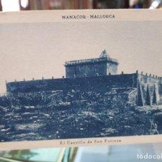 Postales: ANTIGUA POSTAL CASTILLO SON FORTEZA MANACOR MALLORCA MUMBRU. Lote 261253890