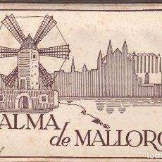 Postales: PALMA DE MALLORCA. BLOC COMPLETO EN ACORDEON CON 10 POSTALES FOTOGRAFICAS. ED. FOTO TRUYOL. Lote 262000325