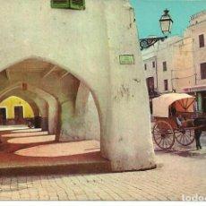 Postales: POSTAL CIUDADELA (MENORCA) - ARCOS EN PLAZA DE ESPAÑA - FOTO JOSE Mª SUBIRÁ - AÑOS 60. Lote 262273225