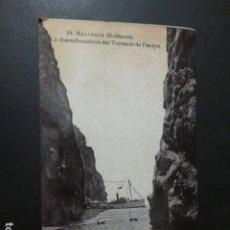 Postales: MALLORCA DESEMBOCADURA DEL TORRENTE DE PAREYS. Lote 262510990