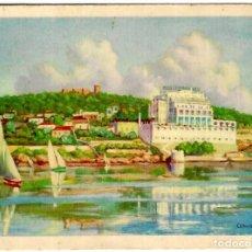 Postales: PALMA DE MALLORCA - MEDITERRÁNEO GRAN HOTEL - ILUSTRACIÓN DE ? - ED. MARTÍ Y MARI - 140X101 MM.. Lote 262681435