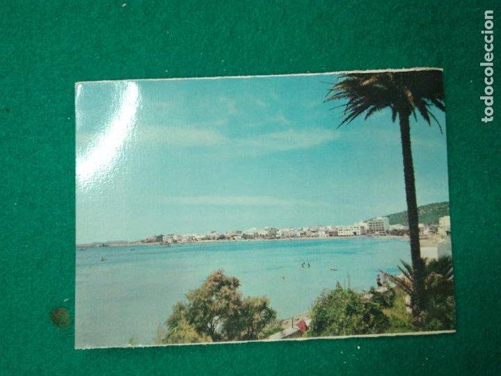 POSTAL IBIZA (BALEARES) SAN ANTONIO VISTA GENERAL (Postales - España - Baleares Moderna (desde 1.940))