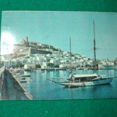 Postales: POSTAL IBIZA (BALEARES) VISTA DE LA CIUDAD.. Lote 262697530