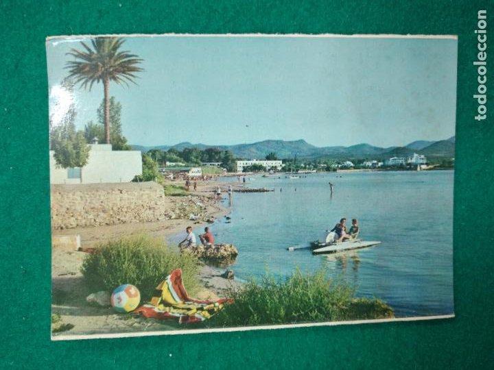 POSTAL IBIZA (BALEARES) PLAYAS DE SDAN ANTONIO. (Postales - España - Baleares Moderna (desde 1.940))