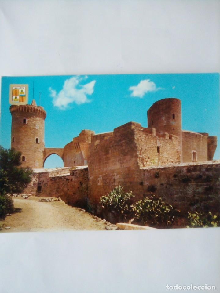 POSTAL MALLORCA, CASTILLO DE BELLVER. (Postales - España - Baleares Moderna (desde 1.940))