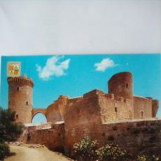 Postales: POSTAL MALLORCA, CASTILLO DE BELLVER.. Lote 262712875