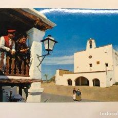 Postales: SAN JOSÉ IBIZA, POSTAL NO.503, IGLESIA Y BALCÓN TÍPICO.., EDIC, EXCLUSIVAS FIGUERETAS (A.1966). Lote 262768760