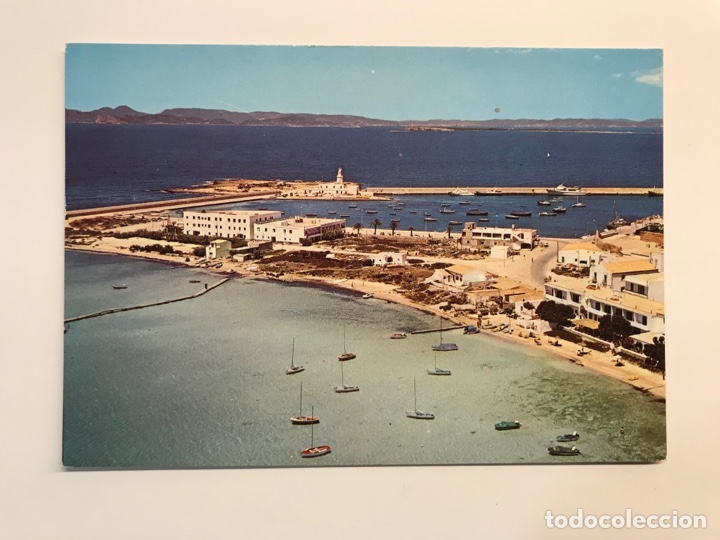 LA SABINA - FORMENTERA. POSTAL NO.519, VISTA GENERAL., EXCLUSIVAS DIMAR (H.1960?) S/C (Postales - España - Baleares Moderna (desde 1.940))
