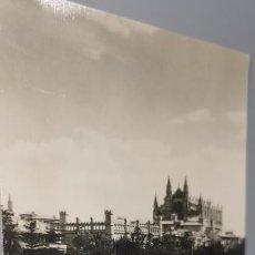 Postales: CATEDRAL Y LONJA MALLORCA RUL-LAN AÑO 1958 CIRCULADA. Lote 262883485