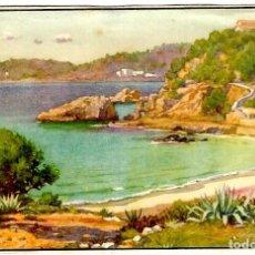 Postales: MALLORCA - ERWIN HUBERT - CALA MAYOR - J. BARGUÑÁ - 148X100 MM.. Lote 262983250