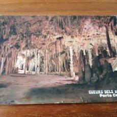 Postales: POSTAL MALLORCA CUEVAS DELS HAMS. Lote 262994640
