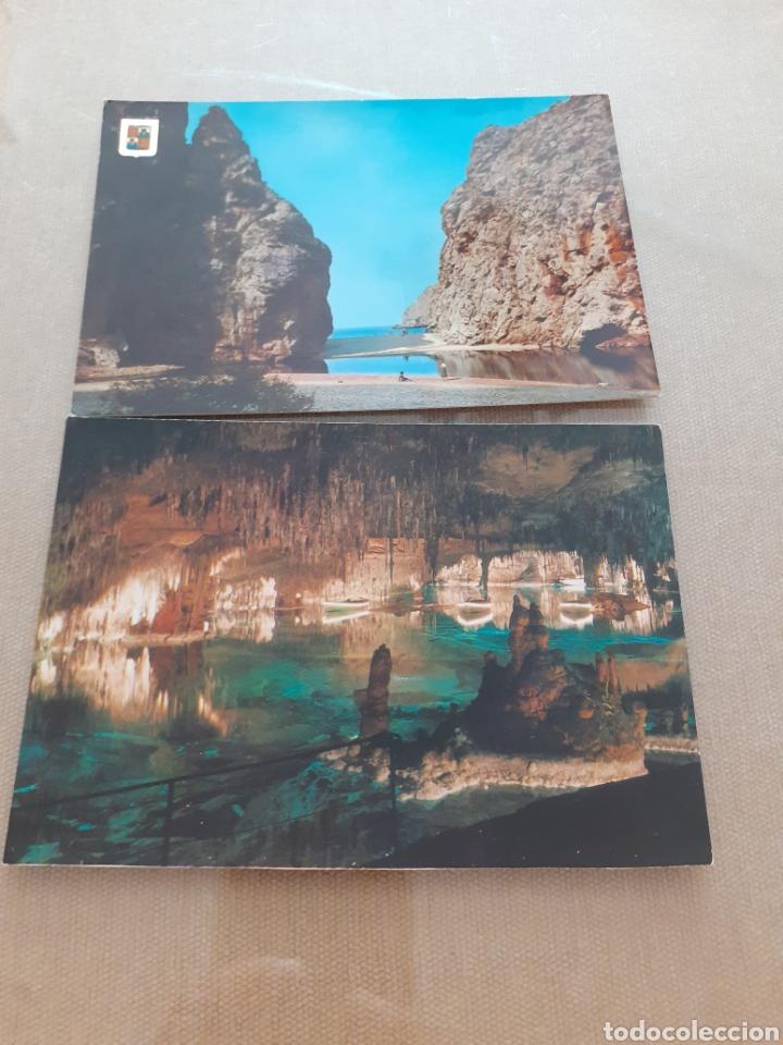 LOTE 2 POSTALES ANTIGUAS MALLORCA SIN USAR (Postales - España - Baleares Moderna (desde 1.940))