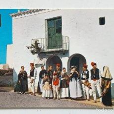 Cartes Postales: POSTAL IBIZA (BALEARES), SAN MIGUEL TRAJES TÍPICOS, SUBIRATS CASANOVAS Nº 45 ESCRITA. Lote 267138174