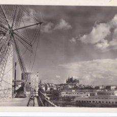 Cartes Postales: PALMA DE MALLORCA CATEDRAL Y MOLINOS. ED. CASA PLANAS Nº 184. SIN CIRCULAR. Lote 267663554