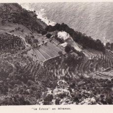 Cartes Postales: PALMA DE MALLORCA LA ESTACA EN MIRAMAR. ED. FOTO TRUYOL. SIN CIRCULAR. Lote 267664389
