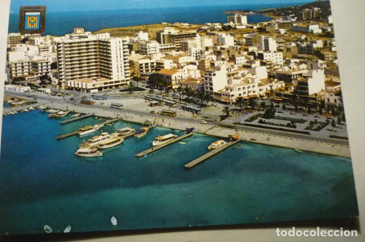POSTAL IBIZA-S.ANTONIO ABAD- AEREA (Postales - España - Baleares Moderna (desde 1.940))