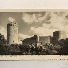 Postales: PALMA DE MALLORCA. POSTAL NO.62, CASTILLO DE BELLVER. EDIC., ARRIBAS (A.1953) DEDICADA... Lote 268962669