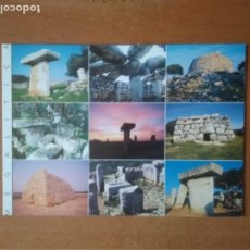Postales: MENORCA MEGALÍTICA. Lote 269214033