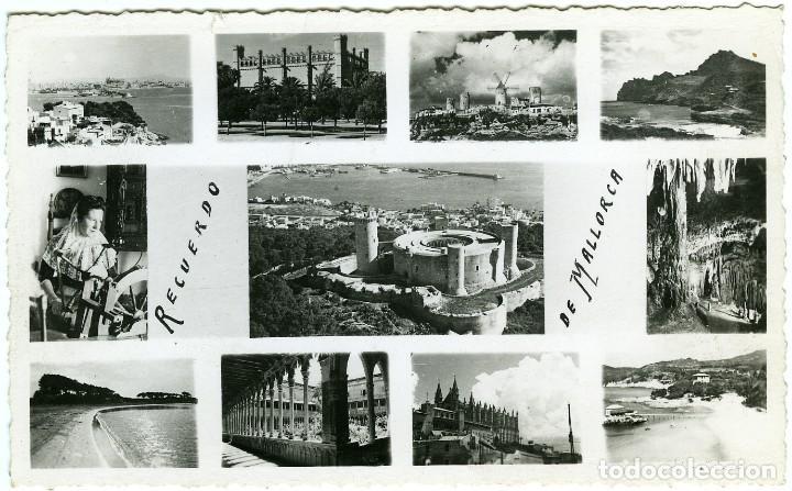 MALLORCA. DIVERSOS ASPECTOS. SIN CIRCULAR. ED. FOTO BALEAR (Postales - España - Baleares Moderna (desde 1.940))