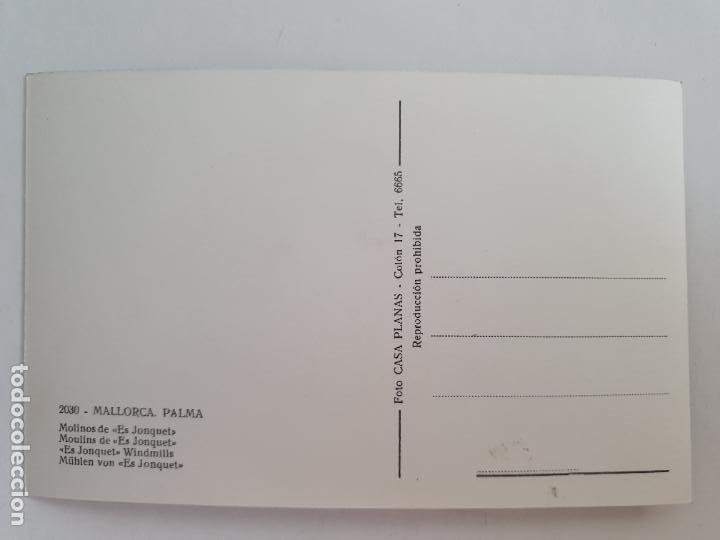Postales: PALMA DE MALLORCA - MOLINOS DE ES JONQUET - LAXC - P52102 - Foto 2 - 269258723