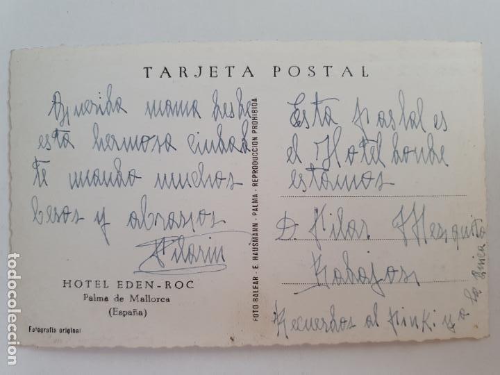 Postales: PALMA DE MALLORCA - HOTEL EDEN - ROC - LAXC - P52103 - Foto 2 - 269259003