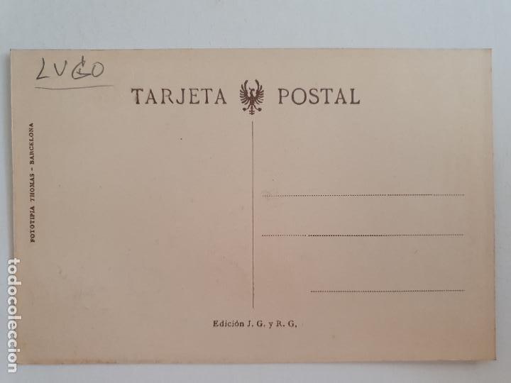 Postales: MONDOÑEDO - PLAZUELA DE OSWALDO CODINA - LUGO - P52157 - Foto 2 - 269309218