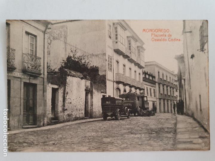 MONDOÑEDO - PLAZUELA DE OSWALDO CODINA - LUGO - P52157 (Postales - España - Baleares Moderna (desde 1.940))