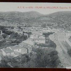 Postales: PALMA DE MALLORCA ESPORLAS, VISTA GENERAL. ED. ANGEL TOLDRA VIAZO 1078. SIN CIRCULAR.. Lote 269340968