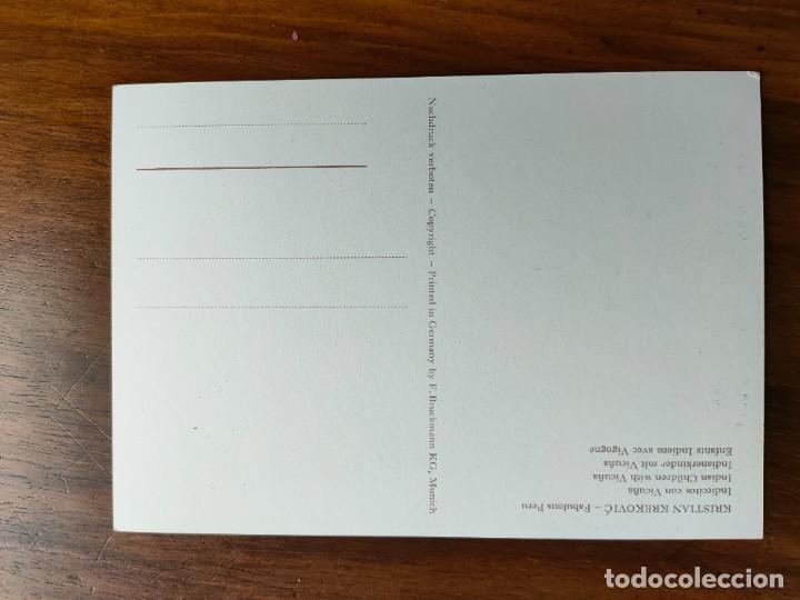 Postales: Postal. Palma de Mallorca. pintor kristian krekovic. firmada por pintor. - Foto 2 - 269373288