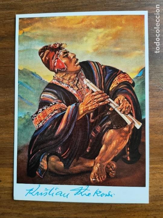 POSTAL. PALMA DE MALLORCA. PINTOR KRISTIAN KREKOVIC. FIRMADA POR PINTOR. (Postales - España - Baleares Moderna (desde 1.940))