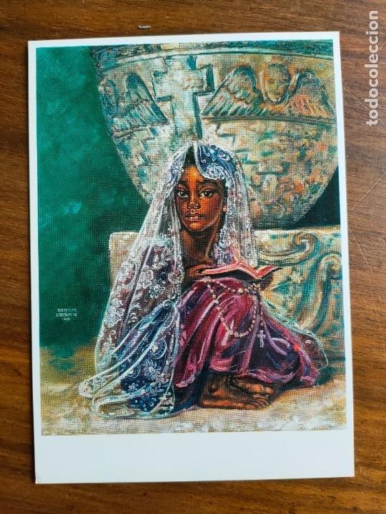 POSTAL. PALMA DE MALLORCA. PINTOR KRISTIAN KREKOVIC. (Postales - España - Baleares Moderna (desde 1.940))