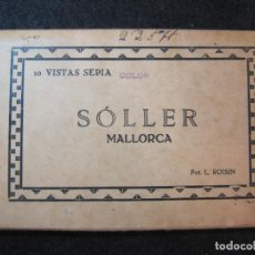 Postales: MALLORCA-SOLLER-BLOC CON 10 POSTALES FOTOGRAFICAS ANTIGUAS-FOTO ROISIN-VER FOTOS-(81.727). Lote 269731548