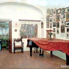 Postales: VALLDEMOSA. 1283 CELDA FEDERICO CHOPÍN Y GEORGE SAND. PIANO PARA CONCIERTOS. NUEVA. COLOR. Lote 270924878