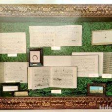 Postales: VALLDEMOSA. 1285 CELDA FEDERICO CHOPÍN Y GEORGE SAND. PARTITURAS ORIGINALES. NUEVA. COLOR. Lote 270924893