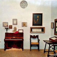 Postales: VALLDEMOSA. 1284 CELDA FEDERICO CHOPÍN Y GEORGE SAND. PIANO MALLORQUÍN DE CHOPÍN. NUEVA. COLOR. Lote 270924898